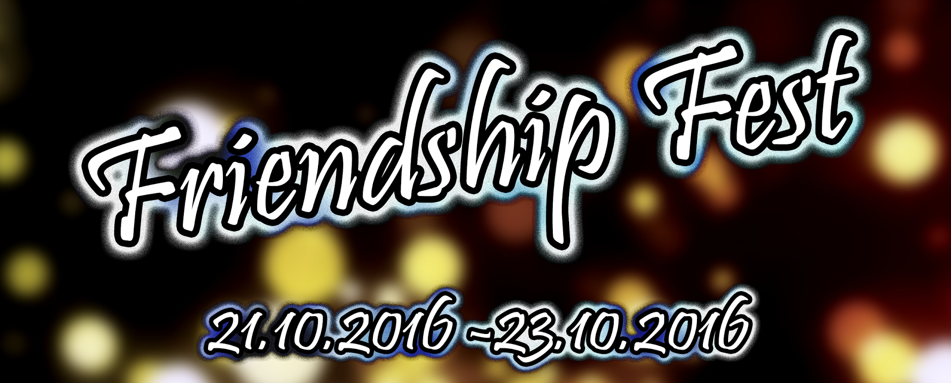 Friendship Fest 2016 - banner