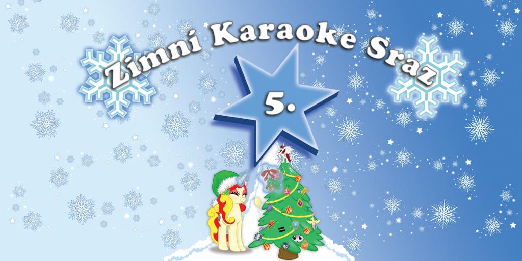 Zimní Karaoke party 2016 - banner