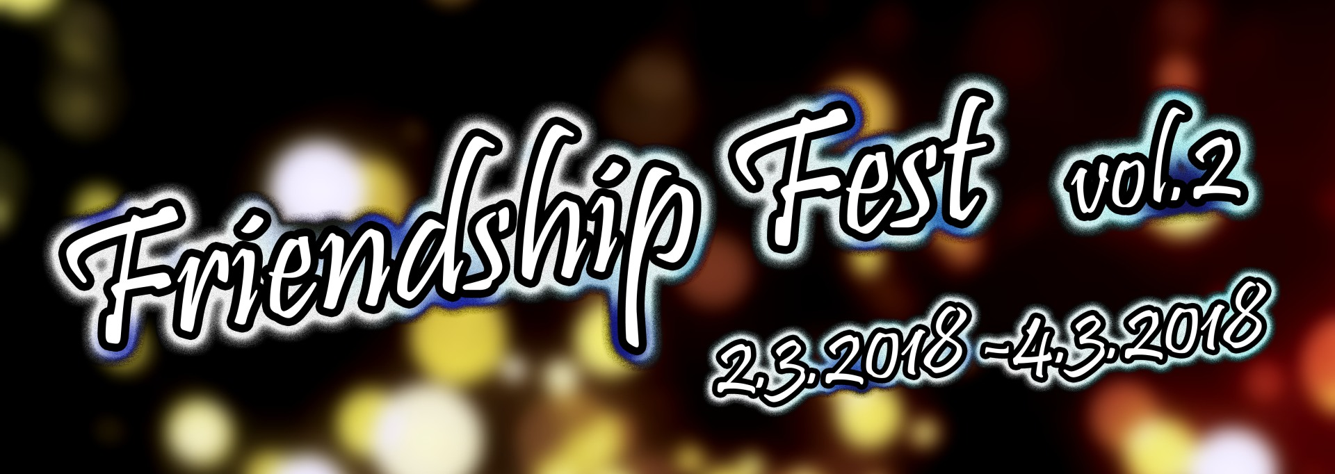 Friendship Fest 2018 banner