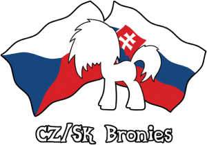 CZ/SK bronies logo - text