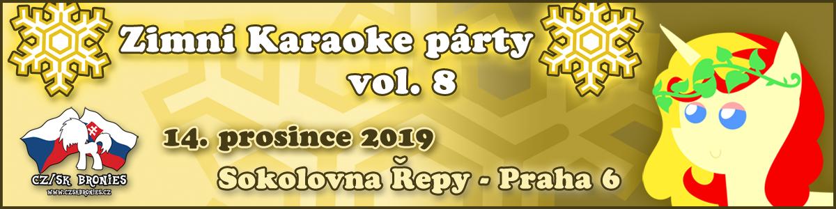 Zimní Karaoke party 2019 - banner