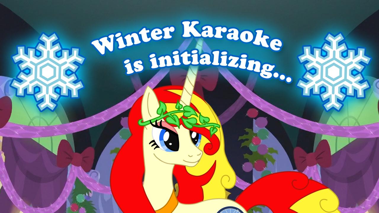 Zimní Karaoke party 2020 - Initializing